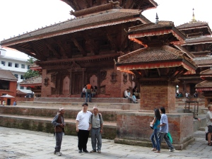 Durbar Square with Megh Gurung