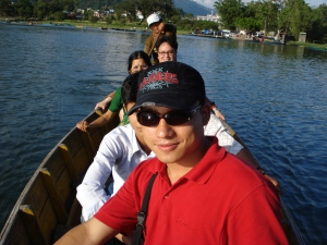 boat ride at fewa lake